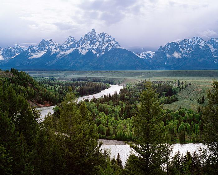 Snake River, Jackson Hole, Grand Teton National Park, Ansel Adams, Wyoming, photo