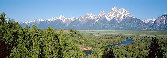 Grand Teton, National Park, Wyoming, Snake River, Jackson Hole, photo