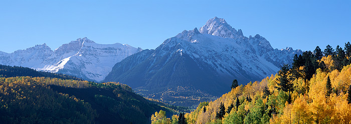 Mt. Sneffels, Ridgeway, Colorado, San Juan, Mountains, Fall, photo