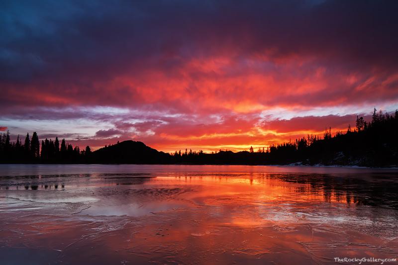 Sprague Lake,Abner Sprague,Rocky Mountain National Park,Colorado,colorful,sunrise,landscape,photography,dramatic,RMNP,Bear Lake Road, photo