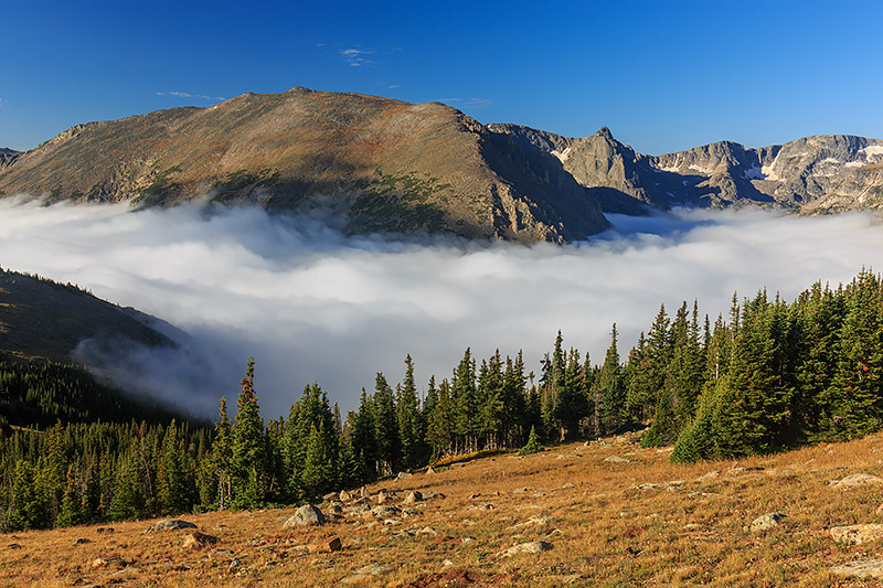 Forest Canyon,RMNP,Estes Park,Trail Ridge Road,Grand Lake,Rocky Mountain National Park,Stones Peak,Hayden Gorge,Inversion,Fog,landscapes,photograph,photography, photo