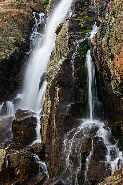 Timberline Falls,Lake of Glass,Rocky Mountain National Park,Colorado,Loch Vale, photo