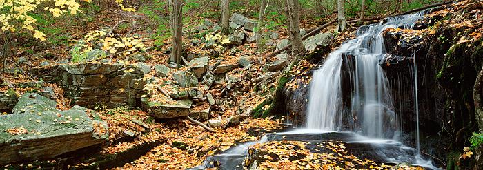 Harriman State Park, Tioratti Falls, New York, Hudson Valley, Fall, photo