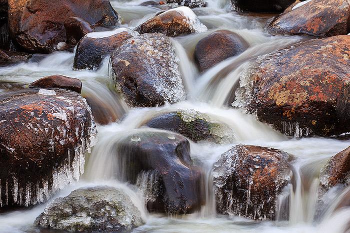 Tonahutu Creek,Grand Lake,Rocky Mountain National Park,Colorado,winter, photo