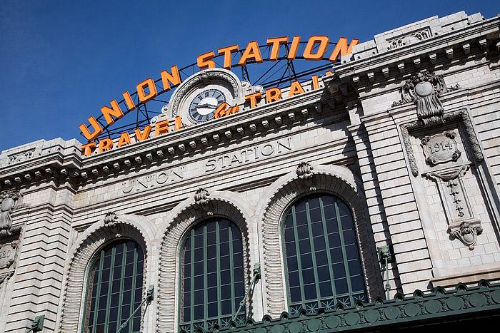 Union Station, Denver, Ski Train, Amtrak, RTD, Railroads, Colorado, photo