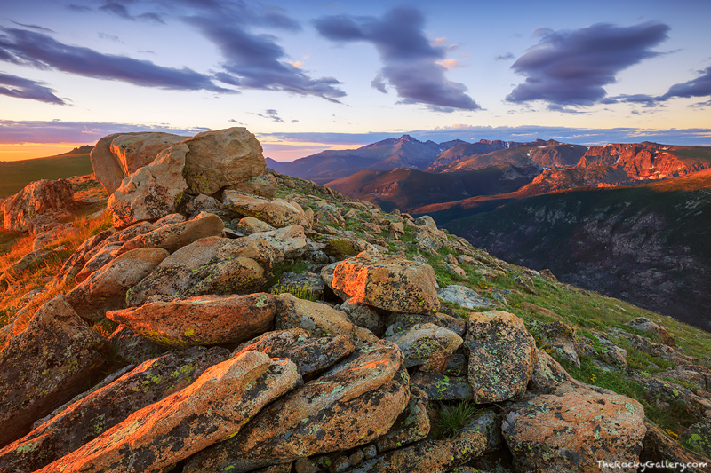 Ute Trail,Trail Ridge Road,Longs Peak,Spruce Canyon,Forest Canyon,Trail Ridge Road,RMNP,Estes Park,Sunrise,Photograph,Landscape,Flattop Mountain,The Gable,Continental Divide,Rockies,RMNP,Grand Lake,La, photo