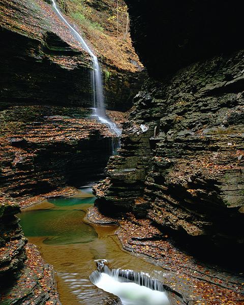 Watkins Glenn, Finger Lakes, Streams, Gorges, Ithaca, New York, photo