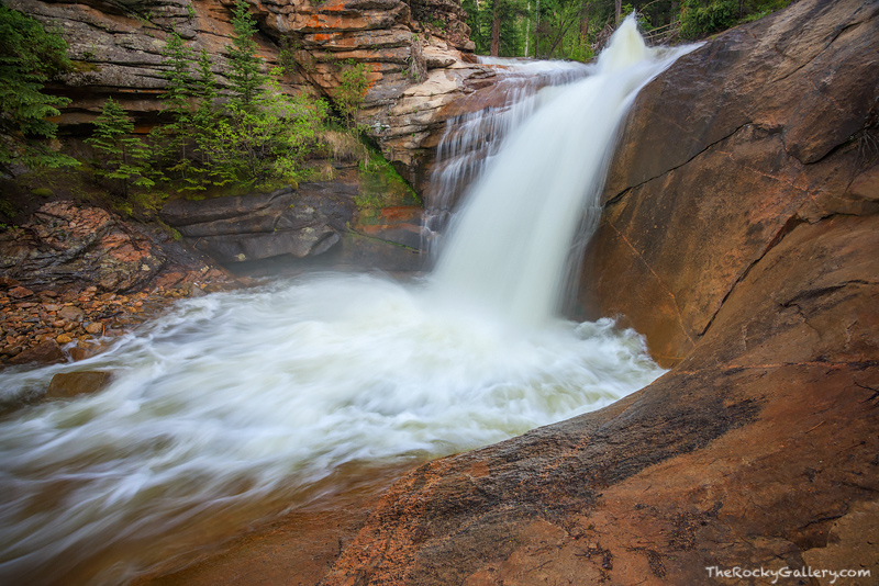 West Creek,Waterfalls,Stream,Spring,June,RMNP,Rocky Mountain National Park,Colorado,Estes Park,Lumpy Ridge,Mummy Range,Landscape,Photography,Spring,Summer, photo