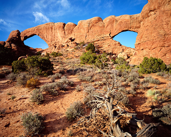 North Window, South Window, Arches National Park, Utah, Windows Section, photo