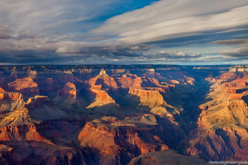 Grand Canyon, Arizona, Yavapai Point, Sunset, South Rim, National Park, photo