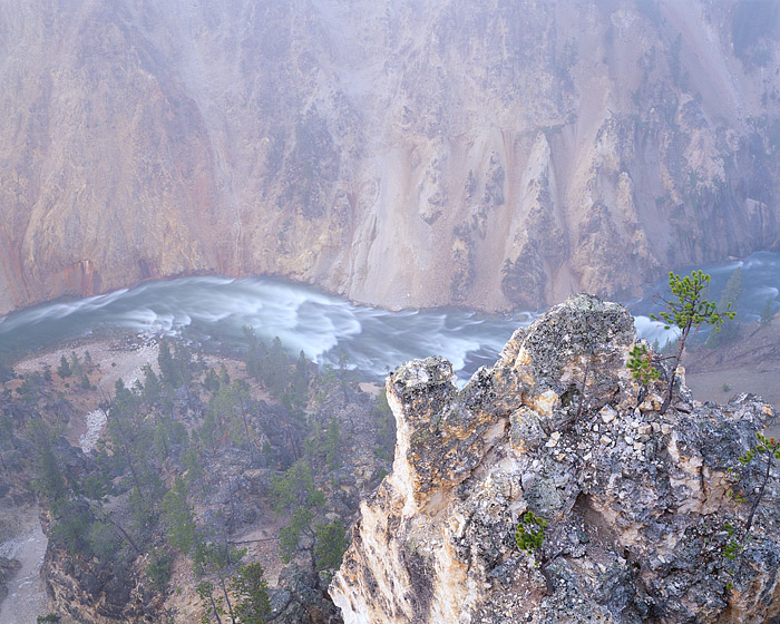 Grand Canyon, Yellowston National Park, Canyon Village, Jackson Hole, River, Fog, photo