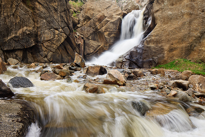 Boulder, Colorado, OSMP, Open Space And Mountain Parks, North Boulder Creek, Boulder Falls, Spring, photo
