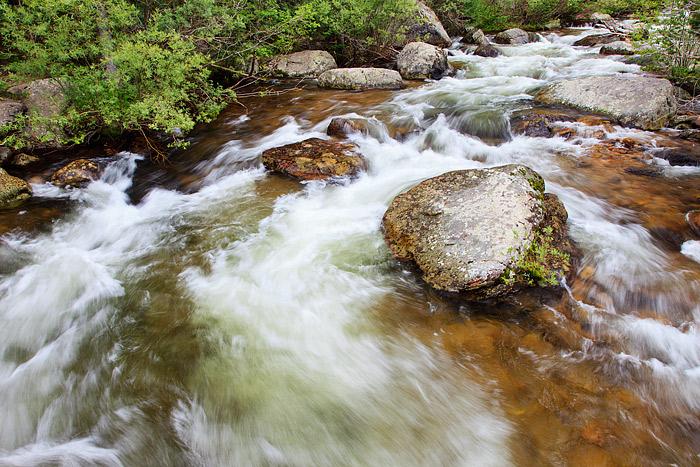 St. Vrain, Wild Basin, Rocky Mountain National Park, Colorado, spring, photo