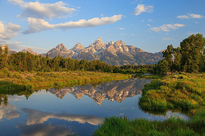Grand Teton National Park,Wyoming,reflections,snake river,Schwabachers landing, photo